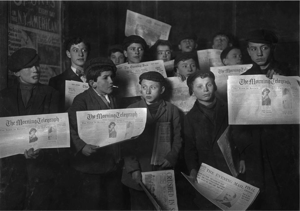NEWSPAPER BOYS