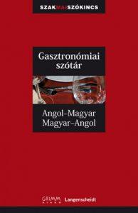 angol magyar gasztronomiai szotar